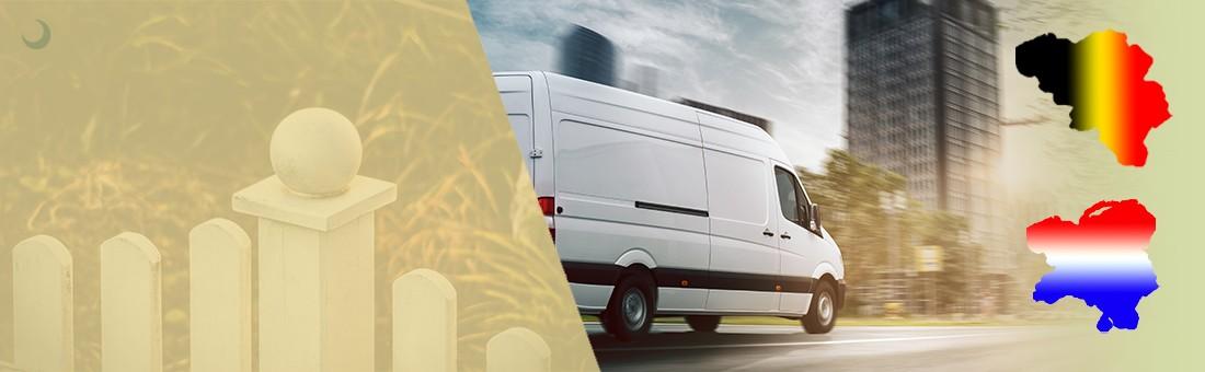 We leveren onze producten in Nederland en België
